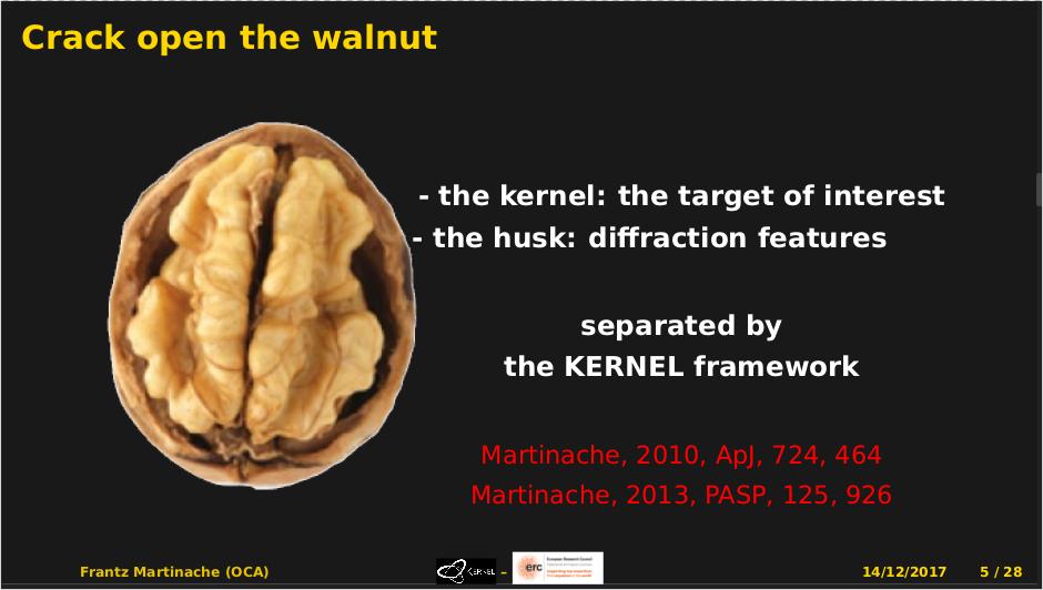KERNEL: crack open the walnut